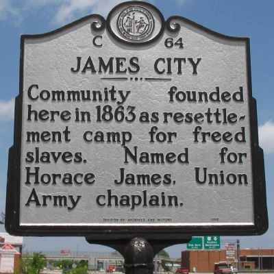 James City Marker image. Click for full size.