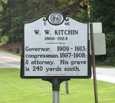 W. W. Kitchin Marker image. Click for full size.