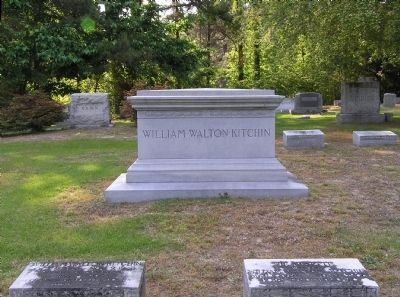 W. W. Kitchin Family Plot image. Click for full size.