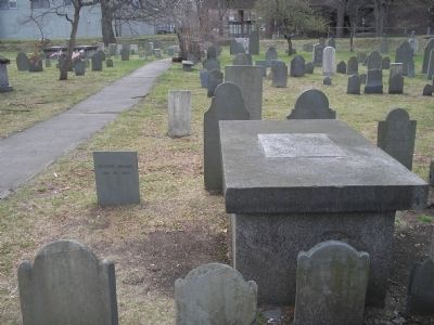 Graves in the Old Burial Ground image. Click for full size.