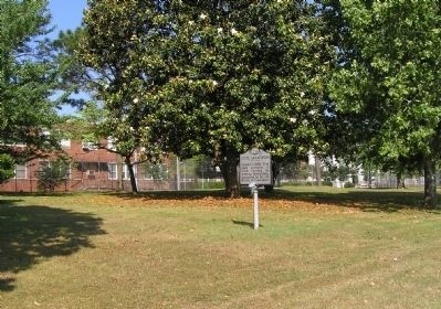 Wide view of the State Sanatorium Marker image. Click for full size.