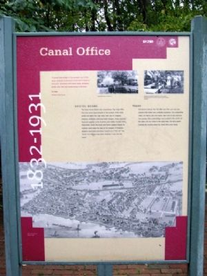 Canal Office Marker image. Click for full size.