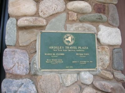 Ardsley Travel Plaza Marker image. Click for full size.