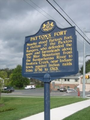 Patton's Fort Marker image. Click for full size.