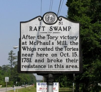 Raft Swamp Marker image. Click for full size.