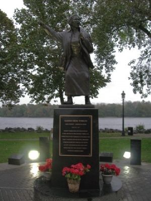 Harriet Ross Tubman Monument image. Click for full size.
