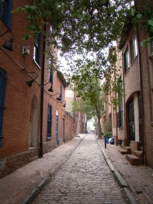 Naudain Street from 2nd Street, Queen Village image. Click for full size.