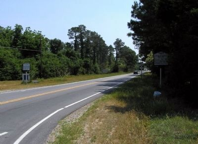 Wide view of the Angus W. McLean Marker image. Click for full size.