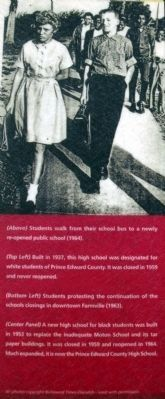 Schools re-open in 1964. image. Click for full size.