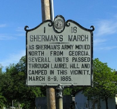 Sherman's March Marker image. Click for full size.