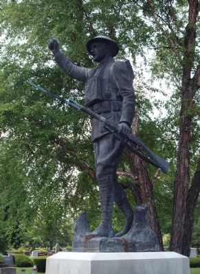 "Statue - - ""The Spirit of the American Doughboy"" image. Click for full size."