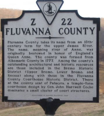 Fluvanna County Side image. Click for full size.