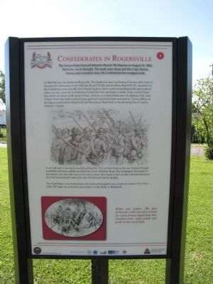 Confederates in Rogersville image. Click for full size.