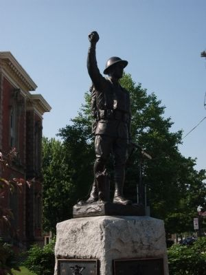 Doughboy Statue image. Click for full size.