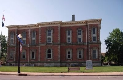 Randolph County Courthouse - Winchester, Indiana image. Click for full size.