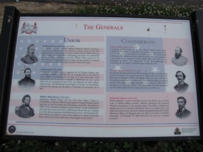 The Generals Marker image. Click for full size.
