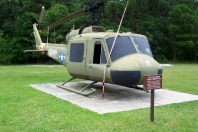 UH-1A Iroquois Utility Helicopter and Marker image. Click for full size.