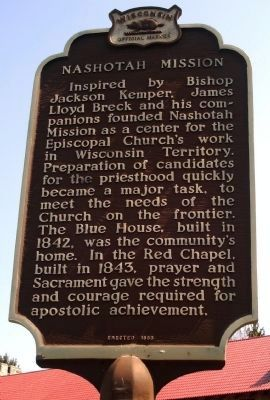 Nashotah Mission Marker image. Click for full size.