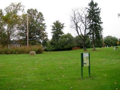 The Playwicki Farm Labyrinth and Marker image. Click for full size.