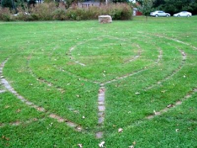 The Playwicki Farm Labyrinth image. Click for full size.