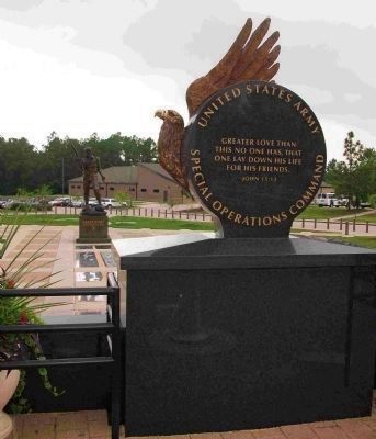 USASOC Memorial Wall image. Click for full size.