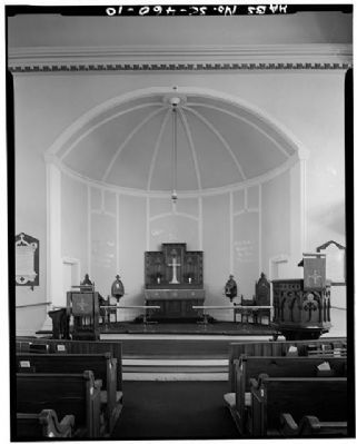 St. Helena's Church Apse image. Click for full size.
