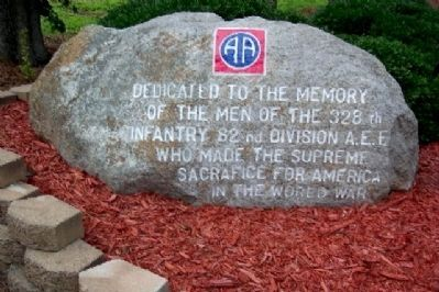 328th Infantry Rock image. Click for full size.