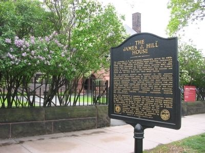James J. Hill / The James J. Hill House Marker image. Click for full size.