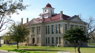 Blanco County Courthouse image. Click for full size.