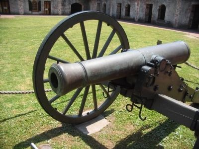 Model 1841 6-pounder Gun image. Click for full size.