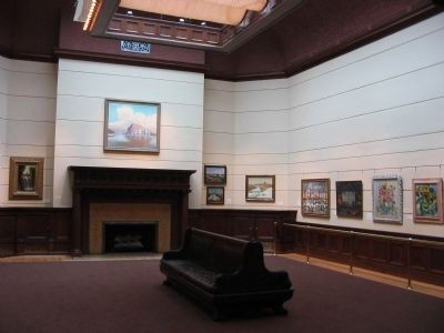 Two-story Skylit Art Gallery image. Click for full size.