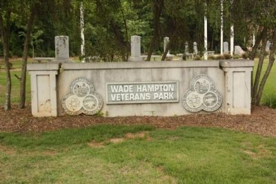 Wade Hampton Veterans Park image. Click for full size.
