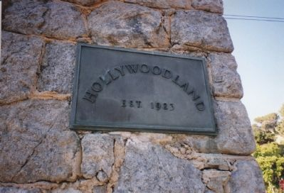 The Hollywood Land Granite Gate image. Click for full size.