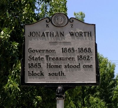 Jonathan Worth Marker image. Click for full size.