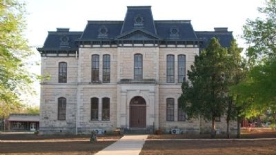 Old Blanco County Courthouse image. Click for full size.
