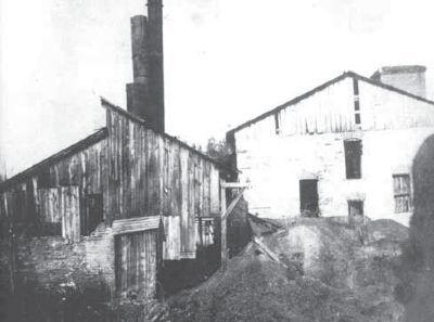 Grove Shaft, Murphy Coal Corp. image. Click for full size.