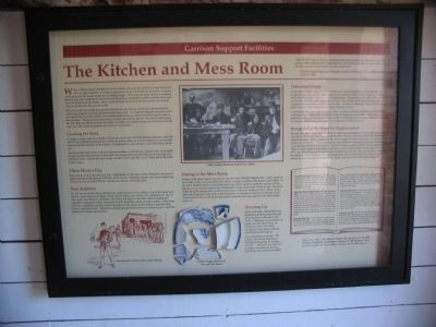 Kitchen and Mess Room image. Click for full size.