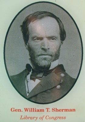 Gen. William T. Sherman, USA image. Click for full size.