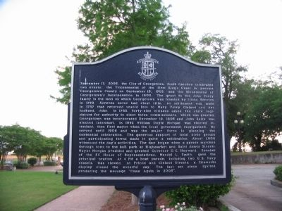 City of Georgetown Marker image. Click for full size.