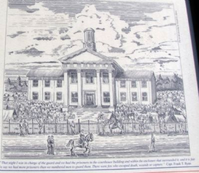 Sketch of Madison County Courthouse image. Click for full size.