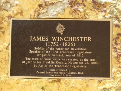 James Winchester Marker image. Click for full size.