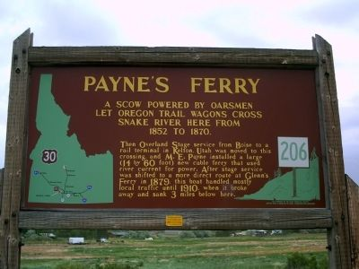 Payne's Ferry Marker image. Click for full size.