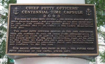 Chief Petty Officers Marker image. Click for full size.