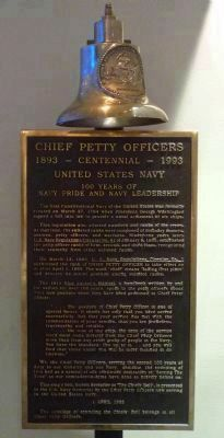 Chief Petty Officers' Bell image. Click for full size.