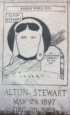 Alton Stewart Gravesite Headstone image. Click for full size.