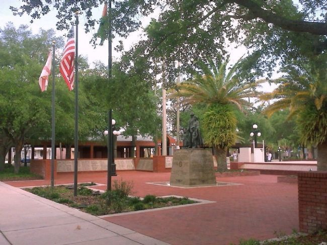 Ybor Centennial Park image. Click for full size.