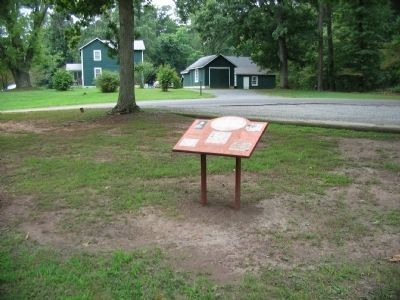Confederate Camp & Freedman's Farm Trail Marker image. Click for full size.