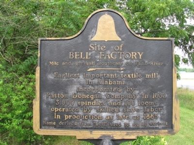 Site of Bell Factory Marker image. Click for full size.