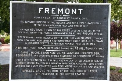 Fremont Marker image. Click for full size.