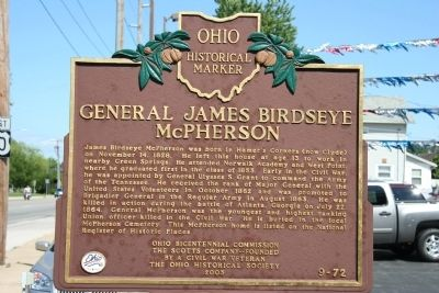 General James Birdseye McPherson Marker image. Click for full size.